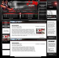 Allstars-Online-Gaming Website by webgraphix