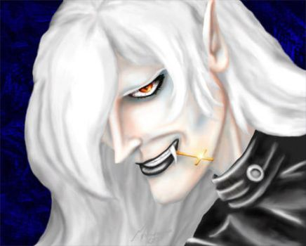 a semi-insane alucard by ladyshalafae
