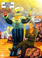 Happy 50th Anniversary Lost In Space! by KaijuDuke