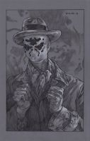 Rorschach backing board sketch by stevenrussellblack