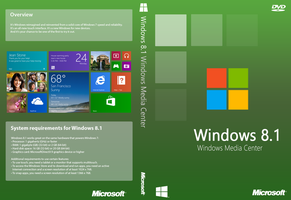 Windows 8.1 Windows Media Center Cover(Unofficial) by joostiphone