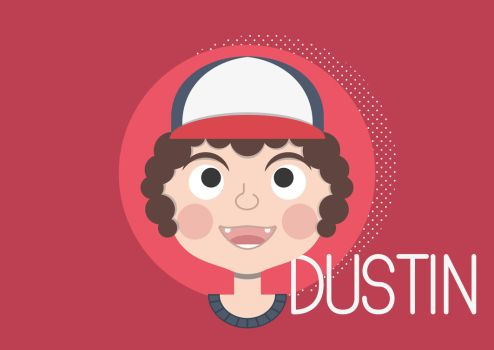 Dustin! by HaruDoodle