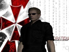 Albert Wesker Code Veronica render by WolfShadow14081990