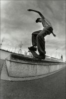 Skate or fall... by Maxetlesmaximonstres