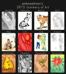 2015 Summary of Art by ankewehner