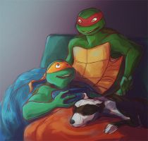 TMNT SS 12 for Teratophelia by arbrenoir