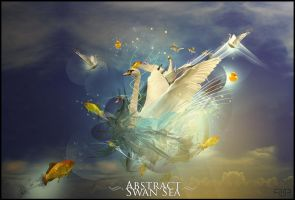 Abstract Swan Sea SE by AagaardDS