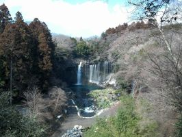 Falls in Japan by clmcmillion