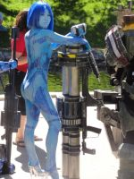 Halo - Cortana 5 by Hyokenseisou-Cosplay