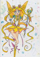 Selenit Saturn New Power (Sailor Moon) season 1 TV by Selenit-Saturn