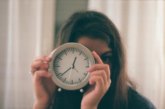 Me, clock by cerealintegrali