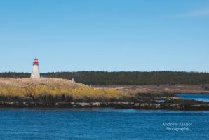 Peter's Island Lighthouse by AEisnor