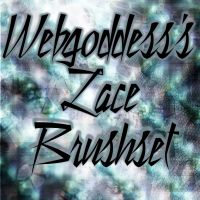 Lace Brushset by webgoddess