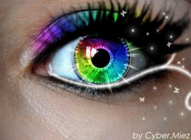 Fairy eye by CyberMiez