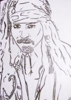 Captain Jack Sparrow by SwampedTruth