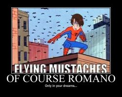 Romano Motivational Poster by lilykitten1998