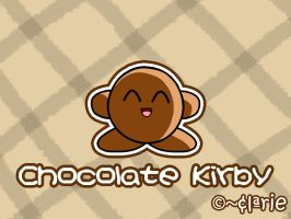 Chocolate Kirby by clariecandy