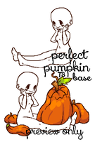 perfect pumpkin adoptable base OPEN by tenchibaka