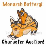 Monarch Buttergi Character Auction by LeiliaClay