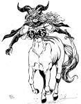 Tarot as centaur by Dogsupreme