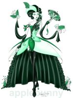 Dark Madame de Mint by applebunny