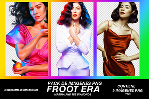 MARINA AND THE DIAMONDS - FROOT ERA PNG by LittleDr3ams