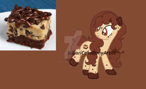 Chocolate Chip Cake Custom For MlpCloverBliss~! by SugariSweetLolita