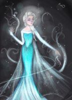 Queen Elsa by CaptnBucky