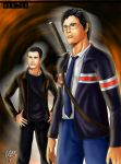 Peter and Hiro by bassisnyazed