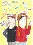 Dan and Phil! by TheMagnificentMorado
