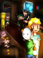 BRODATE every day: Amnesia. (PewdieCry) by mochimochicat