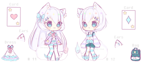 Yanny Twins Adoptable [SET PRICE]  closed by Seraphy-chan