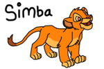 Simba by Supercurlyninja