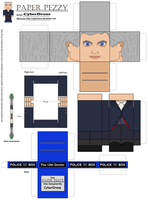 Paper Pezzy- The 12th Doctor by CyberDrone