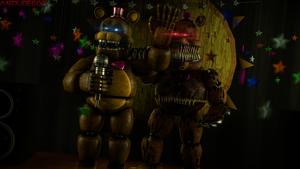 [FNAF SFM F.B] The Past.. And The Nightmare.. - 4K by MrDudeooo