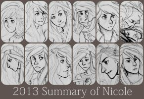 2013 Summary of Nicole by WillowLightfoot