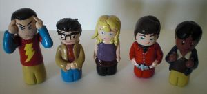 The Big Bang Theory Gang by Ingalain