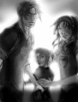 The last of us // Resident Evil crossover by Cleonfever