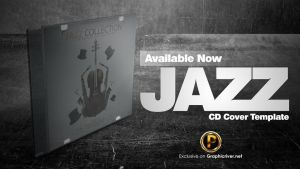 Jazz CD Cover Template by prassetyo