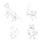 Pokemon Sketch dump by FirionRoseII