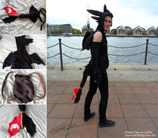 Toothless Cosplay MCM by LiChiba