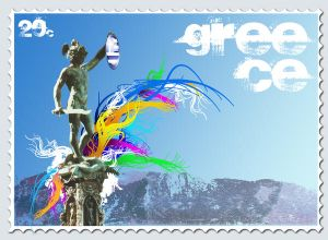Greece stamp 4