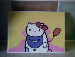 Hello Kitty Gengar by SUREGRAFFITI
