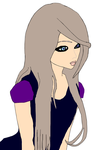 My IMVU avatar drawn out by RoxanFirestone