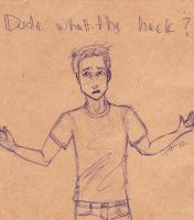 Dude wtf? by evilrainbowpenguins