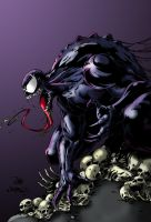 Venom Colored by shubcthulhu by NewEraStudios
