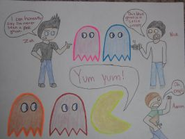Ghost Adventures Meets Pac Man by ghostadventuresgirl