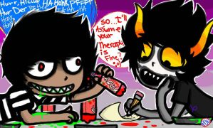 Gamzee is my Therapist by FunDemise