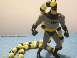 Batman Kandi Necklace by colbyjackchz