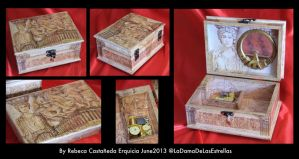 Custom Music Box by ladamadelasestrellas